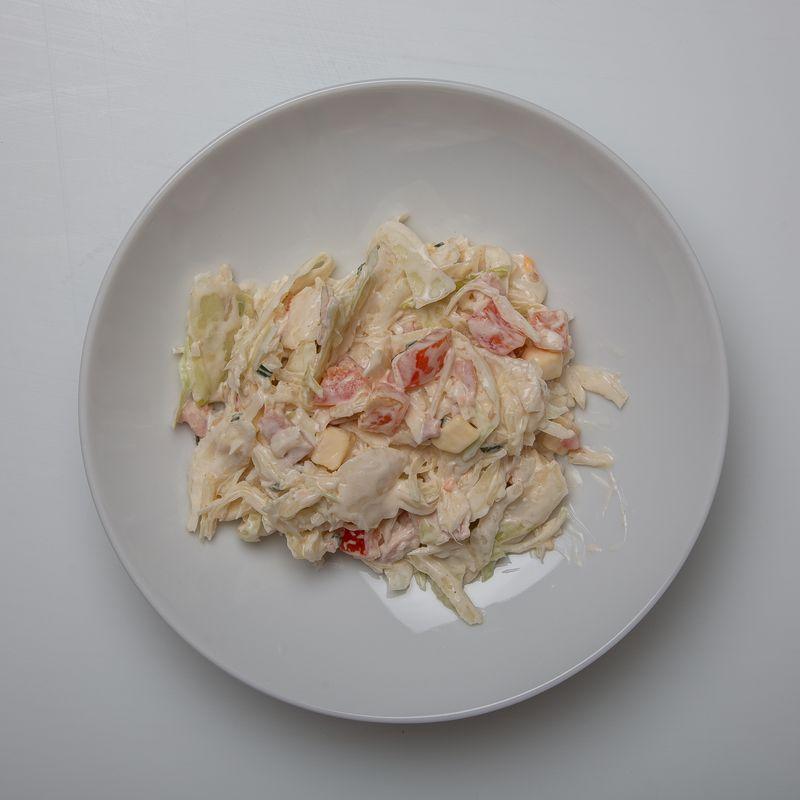 Salade Trio (choux jambon comté) 14.90 le kg