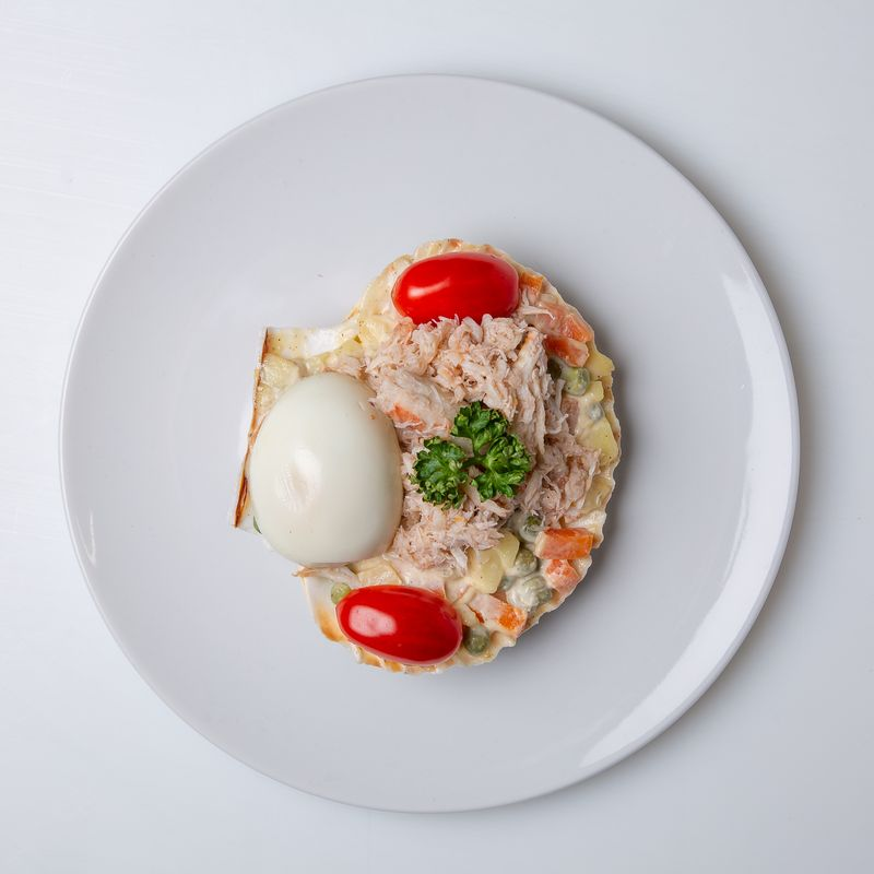 coquille de crabe 4.49 pièce