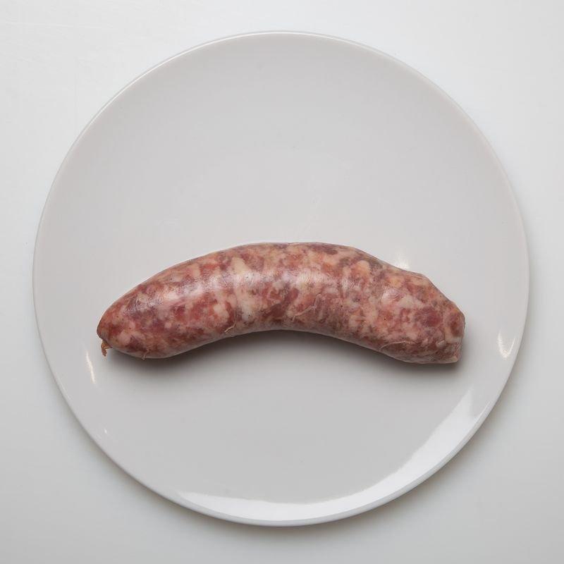grosse saucisse 12.20 le kg