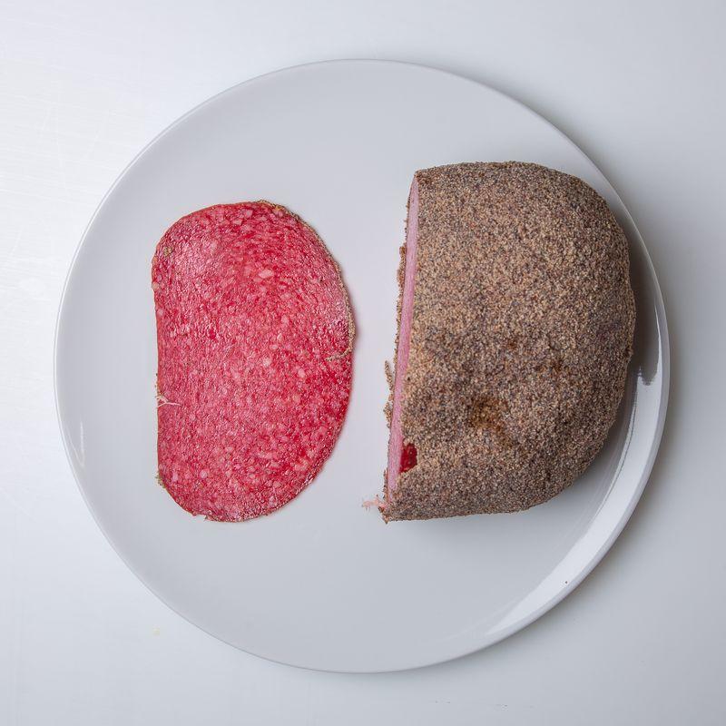 salami au poivre